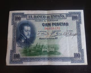 billete 100 pesetas de 1925 x1€