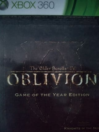 Oblivion the Elder scrolls IV XBOX 360