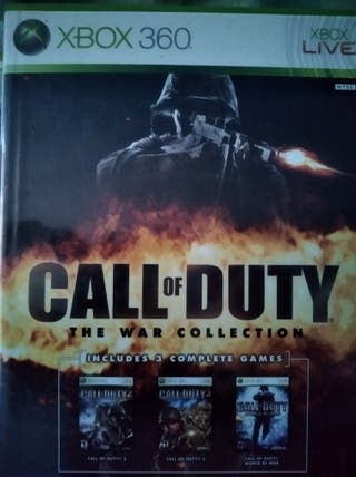 Call of duty the war collection Xbox 360