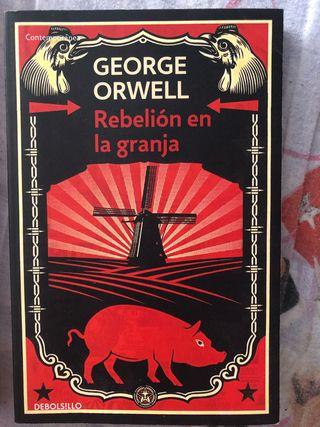 """Libro """"rebelión en la granja"""""""
