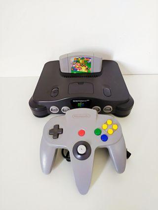 Nintendo 64 + Mario 64