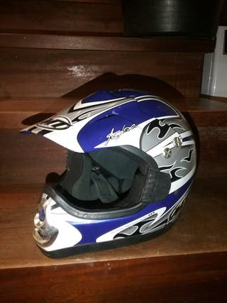 Casco MT moto cross