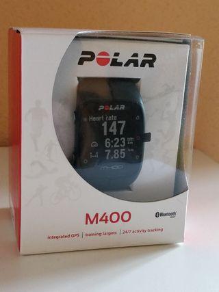 Reloj Polar M400 + banda HR ¡A estrenar!