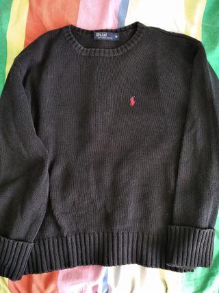 Jersey negro Vintage Ralph Lauren