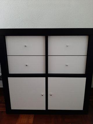 Mueble Ikea cajones y puertas