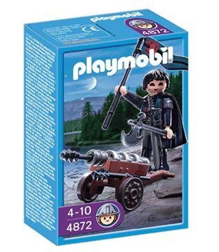 Playmobil: Medieval Cbo. Cañonero Halcón SIN ABRIR
