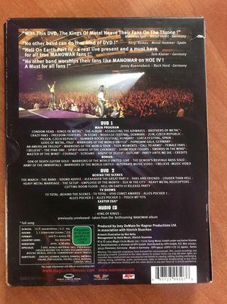 Cd DVD Metal Manowar