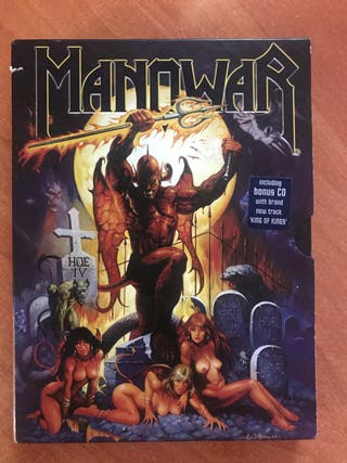 Cd DVD Metal Manowar