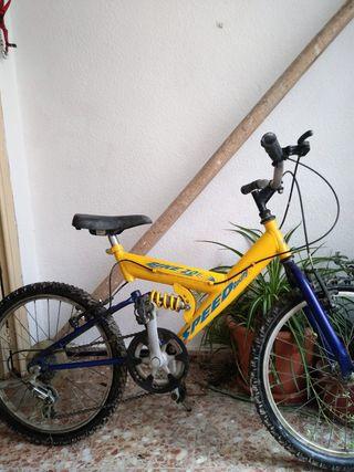 bicicleta para 7 8 y 9 años aproximadamente