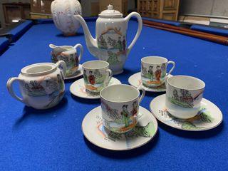 Juego de café cerámica china