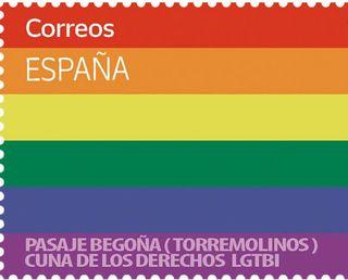SELLO POSTAL ORGULLO GAY