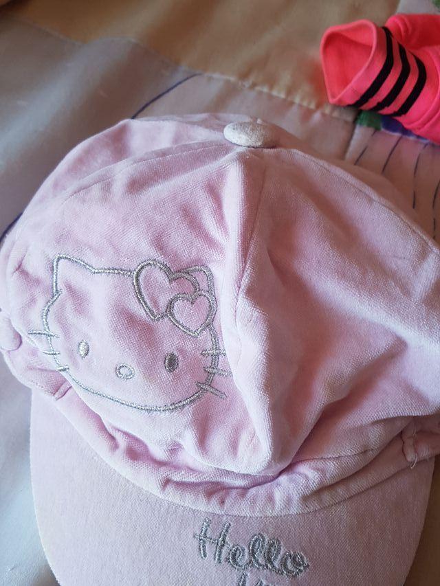 Gorra de Hello kitty con orejeras