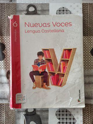 LENGUA CASTELLANA 6 PRIMARIA NUEVAS VOCES