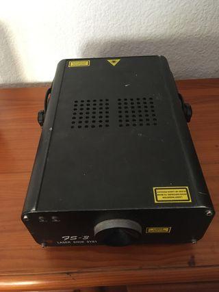 Laser y controlador dmx 512