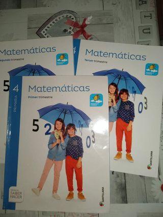 libros 4° de primaria