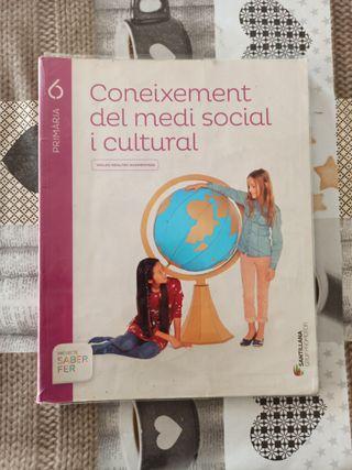 CONEIXEMENT DEL MEDI SOCIAL 6 PRIMARIA Santillana