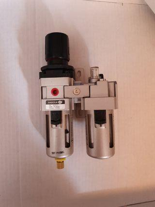 """Filtro regulador Lubrificador SAGOLA FLR 303 [3/8"""""""