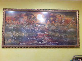 """Tela Batik Balines """"cuadro"""""""