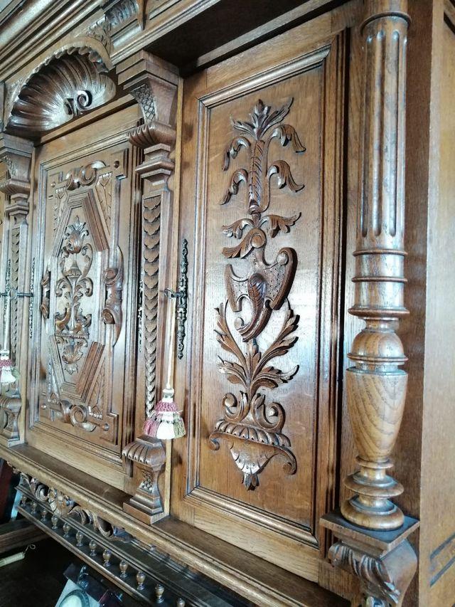 N: Alacena estilo francés siglo XVII