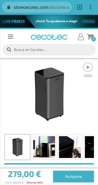 Aire Acondicionado portátil Cecotec.