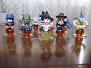 Lote 10 figuras Dragon Ball japonesas