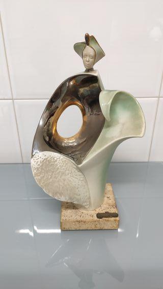 Figura colección cerámica Galos
