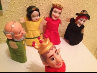 Marionetas dedo Disney