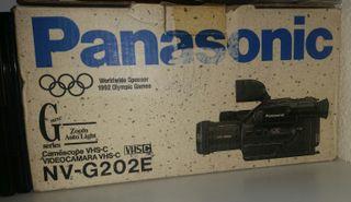 cámara video y baterias