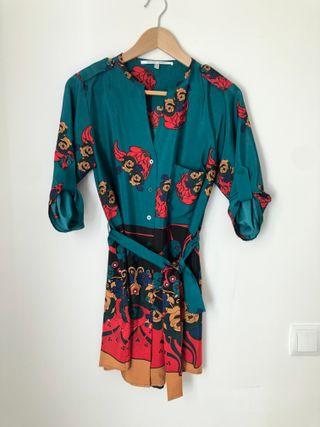 Vestido Camisa estilo Kimono