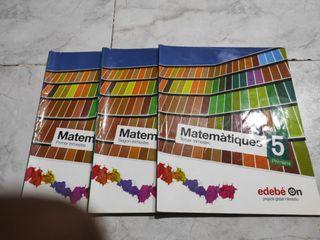 Libros de matemáticas para quinto