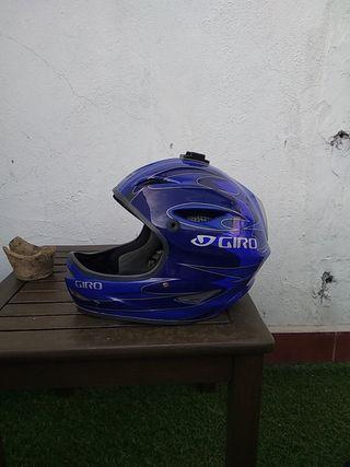 casco integral mtb bicicleta