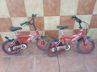 bicicletas pequeñas