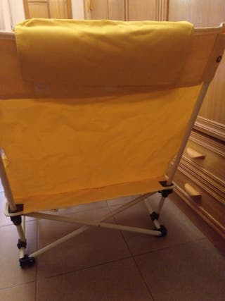 Sillas plegables cómodas de segunda mano en Sevilla en WALLAPOP