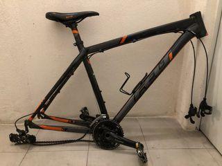 Cuadro de bicicleta de montaña