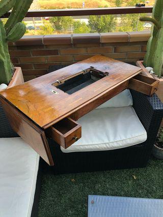 Mueble- Tablero máquina de coser SINGER