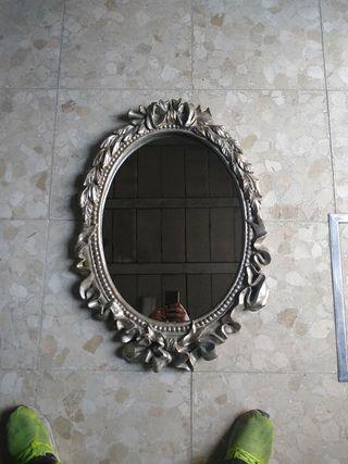 espejo pared (madera)