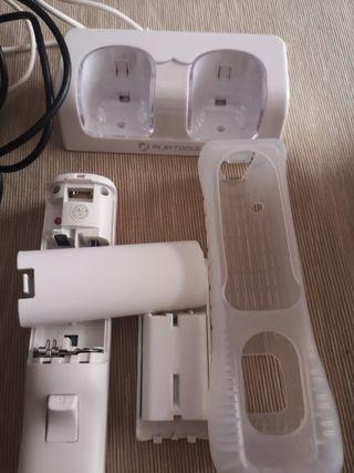 Wii. Micros. Cargador universal. Mando. Antena