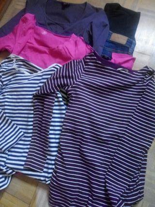 Lote ropa premama H&M talla M