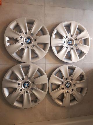 Tapacubos BMW Serie 3 Serie 5 Serie 1 16 pulgadas