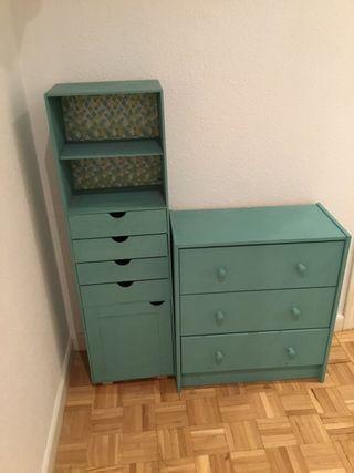 Muebles estrechos