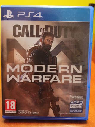 Juego Call of Duty Modern Warfare PS4