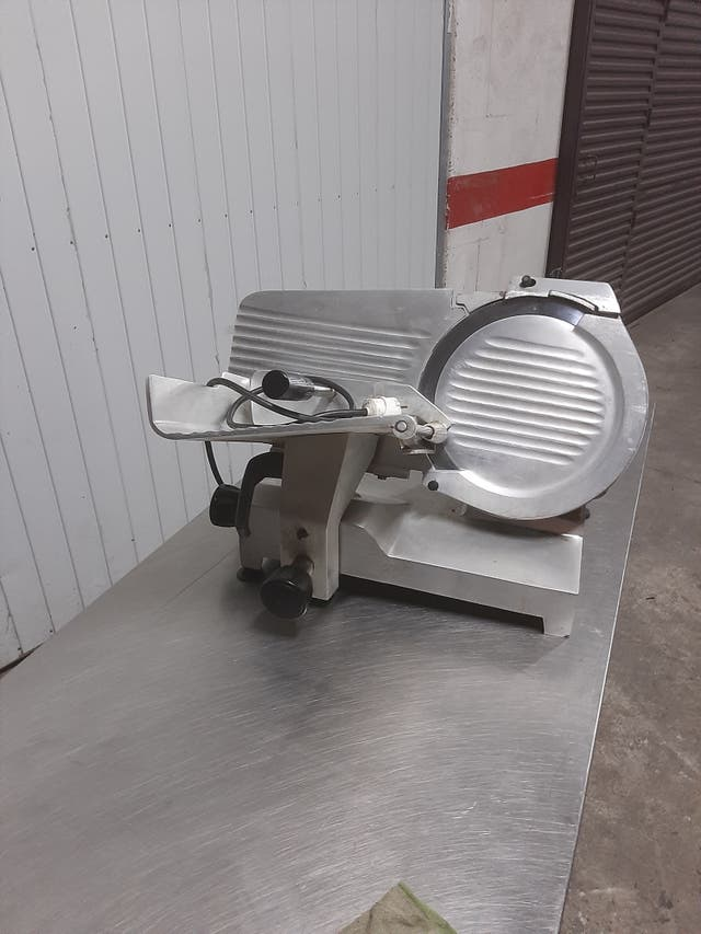 cortadora de fiambre disco 30 cm