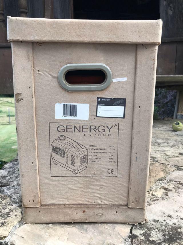 Generador inverter ENergy ibiza