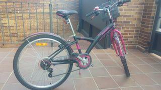 Bicicleta junior chica