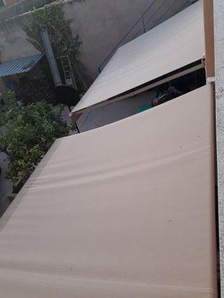 Toldos para patio o terraza