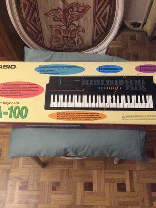 Teclado piano electrónico Casio Mod.MA-100