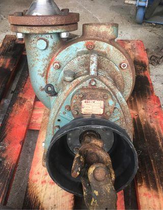 Bomba de riego tractor