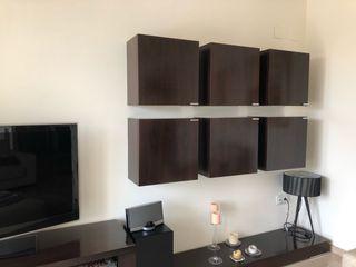 Mueble salón madera alta calidad, están impecables