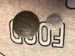 10 centimos y monedas antigua