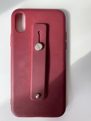 Red/Pink iPhone XS Phone Case